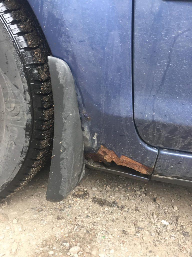гниет крыло форд фокус 2